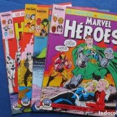 Cómics: MARVEL HEROES VOLUMEN 1 FORUM - NUMEROS 11 AL 14 - LOS 4 FANTASTICOS VS LA PATRULLA X. Lote 147585018