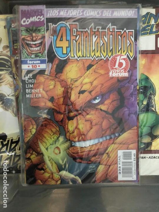 Cómics: 4 Fantásticos 1-12 (JIm LEE) - Foto 2 - 147602894