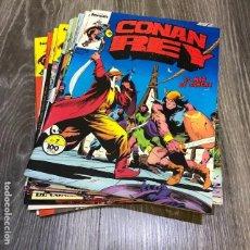 Cómics: LOTE CONAN REY - FORUM - 1984 (14 CÓMICS). Lote 147624786