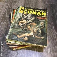 Cómics: LOTE LA ESPADA SALVAJE DE CONAN - FORUM - 1982 (20 CÓMICS). Lote 147625686