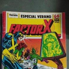 Cómics: FACTOR X ESPECIAL VERANO COMICS FORUM MIRE MIS OTROS ARTICULOS PRECIO NEGOCIABLE. Lote 147662810