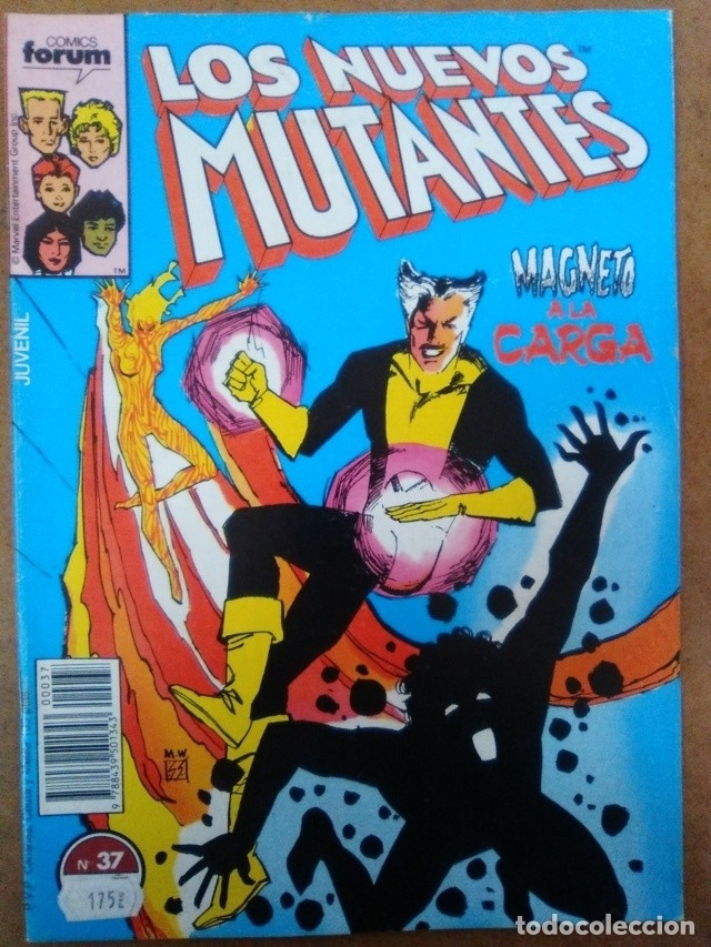 LOS NUEVOS MUTANTES Nº 37 - FORUM - BUEN ESTADO (Comics und Tebeos - Forum - Nuevos Mutantes)
