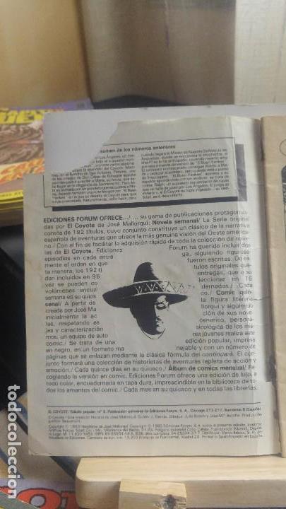 Cómics: EL COYOTE Nº 8 - Foto 2 - 147707014