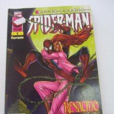Cómics: PETER PARKER SPIDERMAN Nº 1 RENACIDO FORUM - BUEN ESTADO VSD02. Lote 147736718