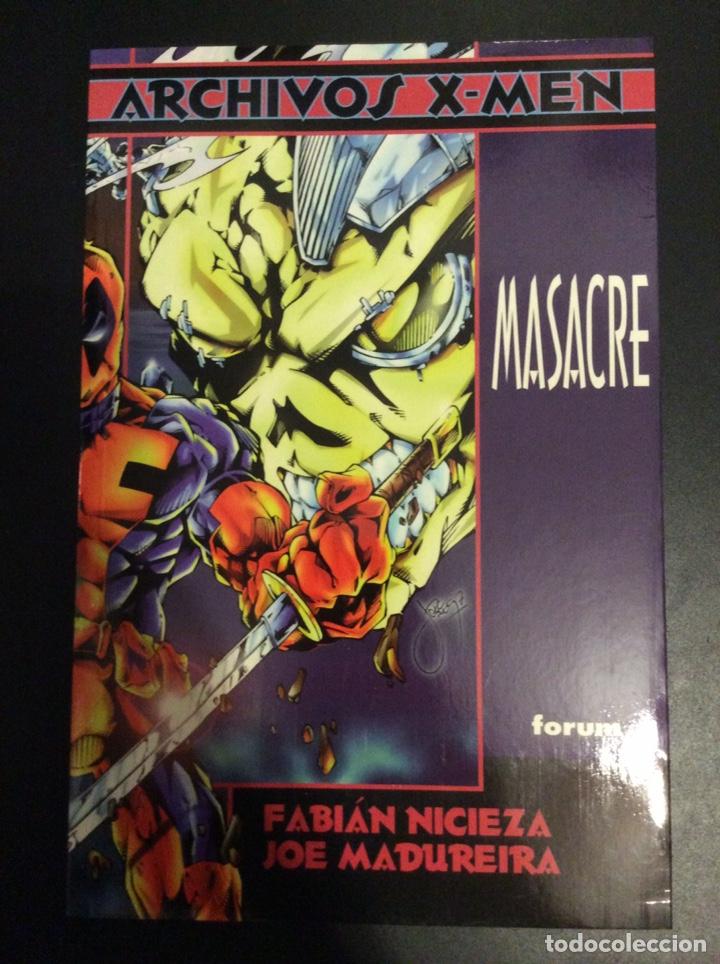 MASACRE ARCHIVOS X-MEN FORUM DEADPOOL (Tebeos y Comics - Forum - Otros Forum)