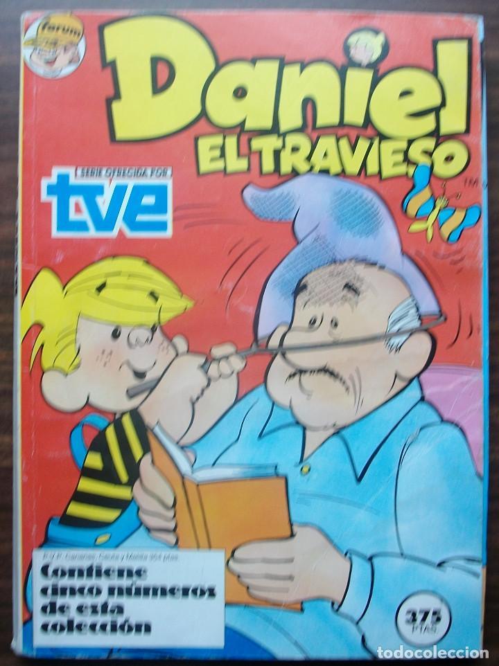 DANIEL EL TRAVIESO. RETAPADO CON LOS Nº 11, 12, 13, 14 Y 15; COMICS FORUM ALEVIN (Tebeos y Comics - Forum - Otros Forum)