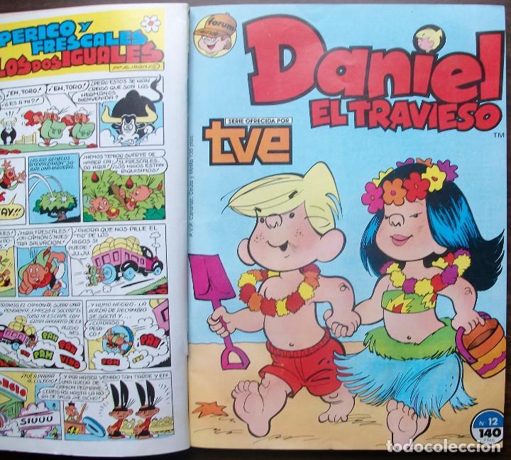 Cómics: DANIEL EL TRAVIESO. RETAPADO CON LOS Nº 11, 12, 13, 14 Y 15; COMICS FORUM ALEVIN - Foto 2 - 147751858