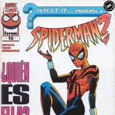 Cómics: WHAT IF VOL. 2 Nº 18 - FORUM - IMPECABLE. Lote 147770970