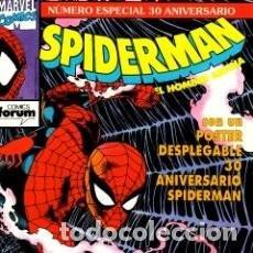 Cómics: SPIDERMAN ESPECIAL 30 ANIVERSARIO - FORUM - IMPECABLE. Lote 147774930
