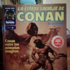 Cómics: LA ESPADA SALVAJE DE CONAN EL BARBARO SUPER CONAN TOMO 15. Lote 147894194
