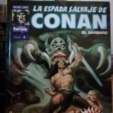 Cómics: LA ESPADA SALVAJE DE CONAN EL BARBARO SUPER CONAN TOMO 4. Lote 147894442