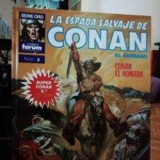Cómics: LA ESPADA SALVAJE DE CONAN EL BARBARO SUPER CONAN TOMO 5. Lote 147894598