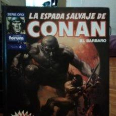 Cómics: LA ESPADA SALVAJE DE CONAN EL BARBARO SUPER CONAN TOMO 6. Lote 147894670