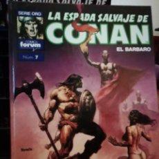 Cómics: LA ESPADA SALVAJE DE CONAN EL BARBARO SUPER CONAN TOMO 7. Lote 147894814