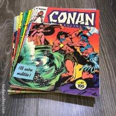 Cómics: LOTE CONAN EL BÁRBARO - FORUM - 1983 (20 CÓMICS). Lote 147969830