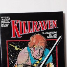 Cómics: KILLRAVEN, DON MCGREGOR / P. CRAIG RUSSELL (NOVELA GRÁFICA MARVEL). Lote 148026102