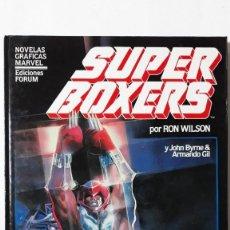 Cómics: SUPER BOXERS, JOHN BYRNE / ARMANDO GIL (NOVELA GRÁFICA MÁRVEL). Lote 148026338