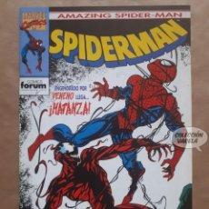 Cómics: SPIDERMAN VOL 1 - Nº 290 - 1ª APARICIÓN DE MATANZA - CARNAGE - VENENO - FORUM - JMV. Lote 148035194