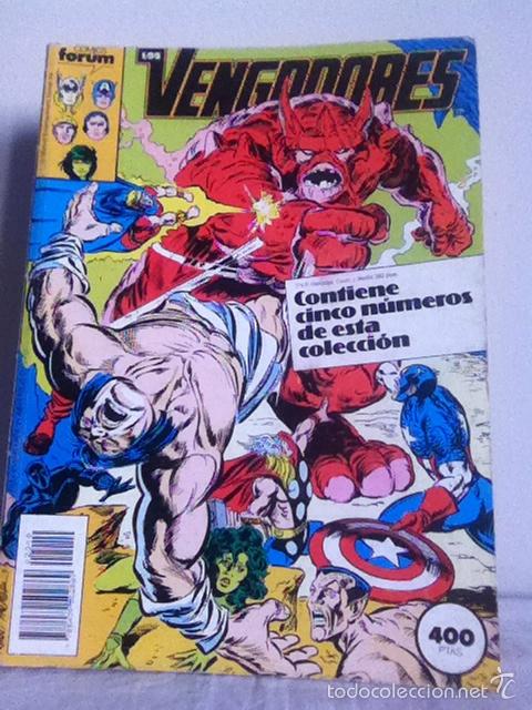 LOS VENGADORES. TOMO RETAPADO. DEL 86-90 (Tebeos y Comics - Forum - Vengadores)