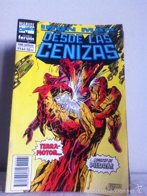 IRÓN MAN. DESDE LAS CENIZAS. N 4 DE 8 (Tebeos y Comics - Forum - Iron Man)