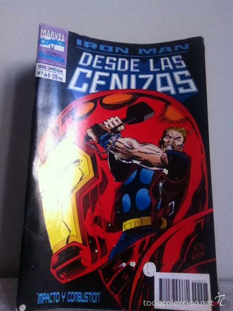 IRÓN MAN. DESDE LAS CENIZAS N 7 DE 8 (Tebeos y Comics - Forum - Iron Man)