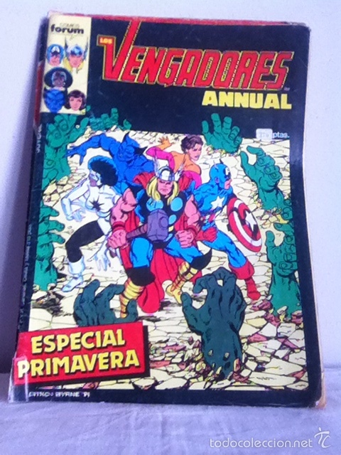 LOS VENGADORES ANNUAL. ESPECIAL PRIMAVERA 1987 (Tebeos y Comics - Forum - Vengadores)