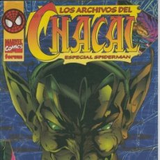 Cómics: LOS ARCHIVOS DE CHACAL ESPECIAL SPIDERMAN - FORUM - IMPECABLE. Lote 148083346