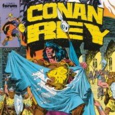 Cómics: CONAN REY - Nº 43 -EL SAQUEO DE BELVERUS- J. HUNT-MIKE MANLEY-1988-BUENO-MUY DIFÍCIL-LEAN- 0060. Lote 148084614