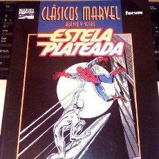 Cómics: ESTELA PLATEADA - SILVER SURFER -CLÁSICOS MARVEL BLANCO Y NEGRO. Lote 148101994