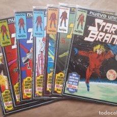 Cómics: STAR BRAND 1 A 7 - NUEVO UNIVERSO - FORUM - JMV. Lote 148144050