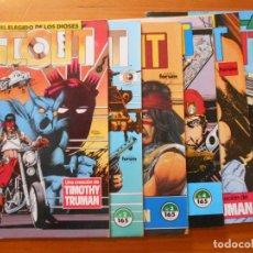 Cómics: SCOUT - NUMEROS 1,2,3,4,5 Y 6 - ECLIPSE COMICS - FORUM (W). Lote 148174994