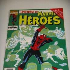 Cómics: SPIDERMAN, EL NIÑO QUE LLEVAS DENTRO 4ª PARTE, ED. FORUM, MARVEL HEROES Nº 75, ERCOM. Lote 148233666