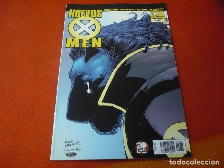 NUEVOS X MEN VOL. 2 Nº 76 ( GRANT MORRISON ) ¡MUY BUEN ESTADO! FORUM MARVEL (Tebeos y Comics - Forum - X-Men)