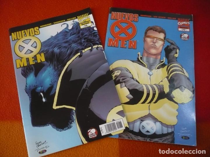 NUEVOS X MEN VOL. 2 NºS 76 Y 77 ( GRANT MORRISON ) ¡MUY BUEN ESTADO! FORUM MARVEL (Tebeos y Comics - Forum - X-Men)
