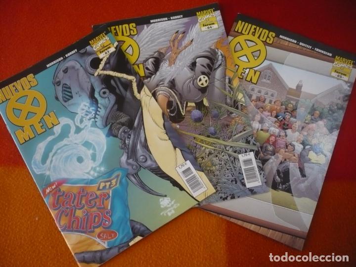 NUEVOS X MEN VOL. 2 NºS 83, 84 Y 85 ( GRANT MORRISON QUITELY ) ¡MUY BUEN ESTADO! FORUM MARVEL (Tebeos y Comics - Forum - X-Men)