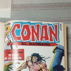 Cómics: CONAN EL BÁRBARO 10 PRIMEROS NS ENCUADERNADOS ED FORUM. Lote 148361601