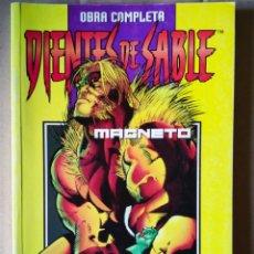 Comics : RETAPADO DIENTES DE SABLE Y MÍSTICA / MAGNETO, OBRA COMPLETA (COMICS FORUM, 1998). NÚMEROS 1-2-3-4. Lote 148446453