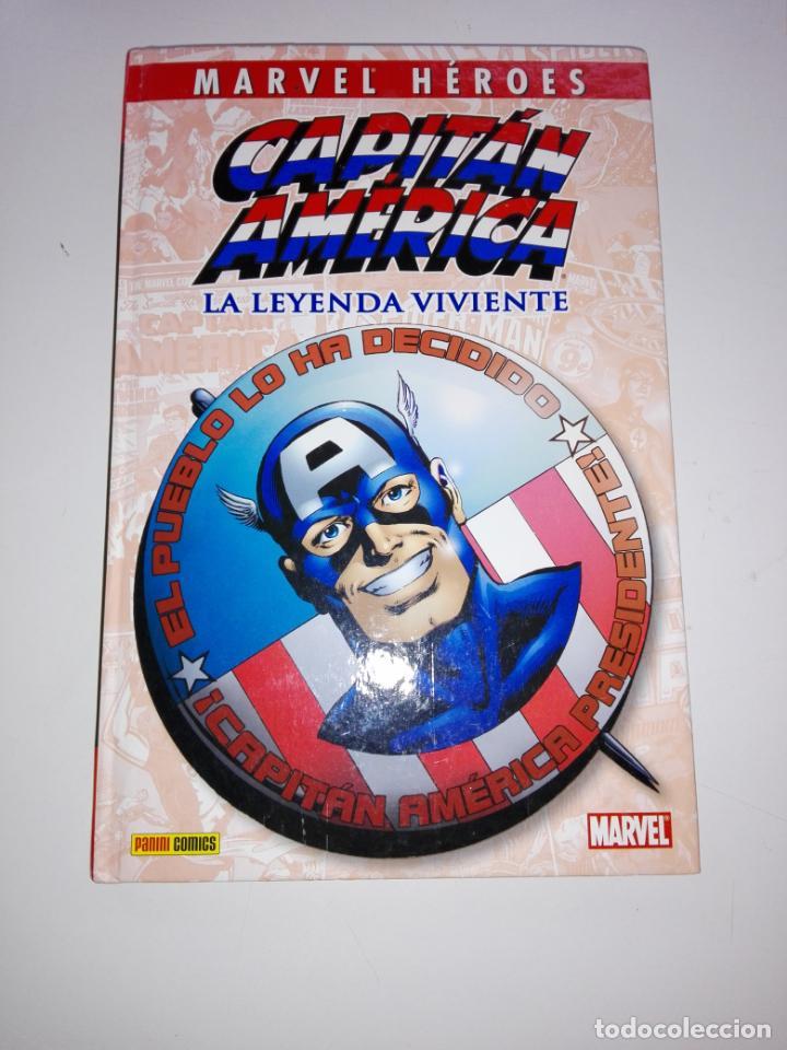 Cómics: COMIC-CAPITÁN AMÉRICA-LA LEYENDA VIVIENTE-MARVEL-PANINI-NUEVO-VER FOTOS - Foto 3 - 148503918