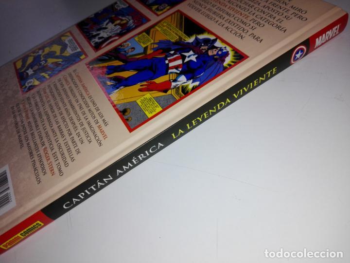 Cómics: COMIC-CAPITÁN AMÉRICA-LA LEYENDA VIVIENTE-MARVEL-PANINI-NUEVO-VER FOTOS - Foto 4 - 148503918