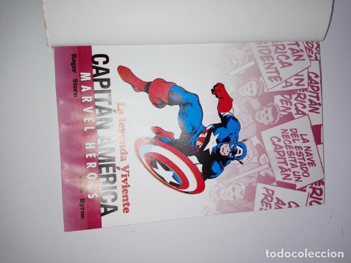 Cómics: COMIC-CAPITÁN AMÉRICA-LA LEYENDA VIVIENTE-MARVEL-PANINI-NUEVO-VER FOTOS - Foto 7 - 148503918