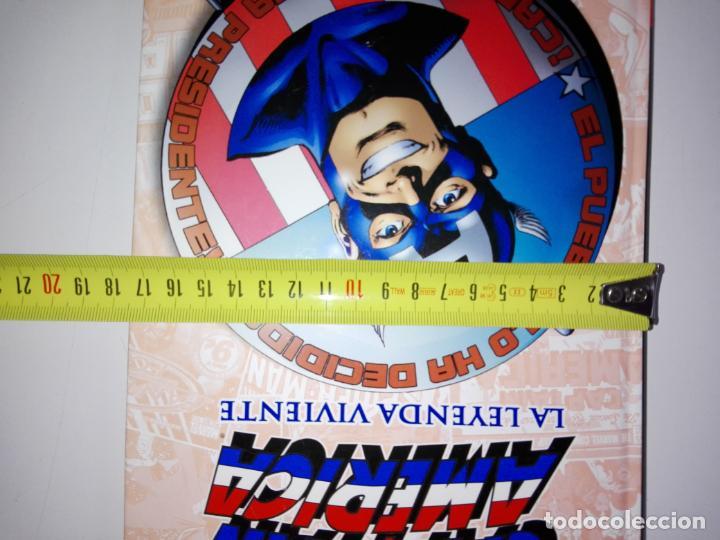 Cómics: COMIC-CAPITÁN AMÉRICA-LA LEYENDA VIVIENTE-MARVEL-PANINI-NUEVO-VER FOTOS - Foto 8 - 148503918
