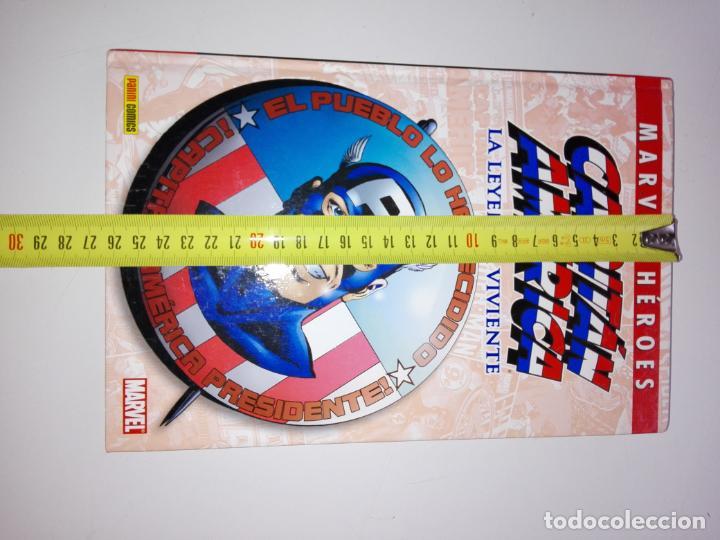 Cómics: COMIC-CAPITÁN AMÉRICA-LA LEYENDA VIVIENTE-MARVEL-PANINI-NUEVO-VER FOTOS - Foto 9 - 148503918