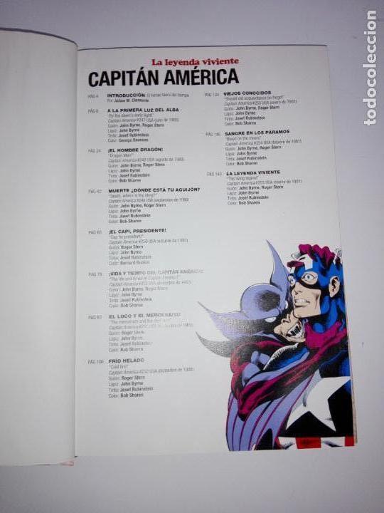 Cómics: COMIC-CAPITÁN AMÉRICA-LA LEYENDA VIVIENTE-MARVEL-PANINI-NUEVO-VER FOTOS - Foto 10 - 148503918