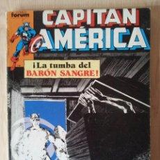 Cómics: CAPITAN AMERICA - RETAPADO - 5 NUMEROS - 11,12,13,14 Y 15 - MARVEL COMICS VOLUMEN 1 FORUM 1985. Lote 148539278