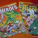 Cómics: MARVEL HEROES NºS 33 Y 34 PATRULLA X KAZAR ¡MUY BUEN ESTADO! FORUM . Lote 148553454