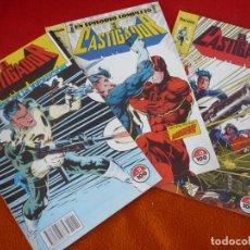 Cómics: EL CASTIGADOR NºS 11, 12 Y 13 ( MIKE BARON ) ¡BUEN ESTADO! MARVEL FORUM. Lote 182283095