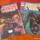 Cómics: EXTRA CONAN EL BARBARO KING SIZE ANNUAL NºS 1 Y 2 ( THOMAS BUSCEMA ) ¡BUEN ESTADO! FORUM MARVEL. Lote 148627842