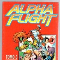Cómics: ALPHA FLIGHT TOMO 3. CONTIENE LOS NUM. 11 AL 15. 1998. FORUM, PLANETA. Lote 148792857
