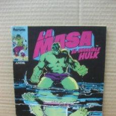 Cómics: LA MASA. EL INCREIBLE HULK Nº 34. MARVEL. COMICS FORUM. Lote 148818898