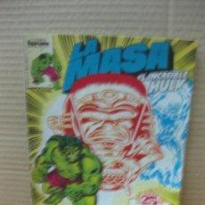 Cómics: LA MASA. EL INCREIBLE HULK Nº 25. MARVEL. COMICS FORUM. Lote 148819030